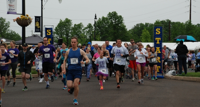 Conti Employees Run Races for Cancer Cures