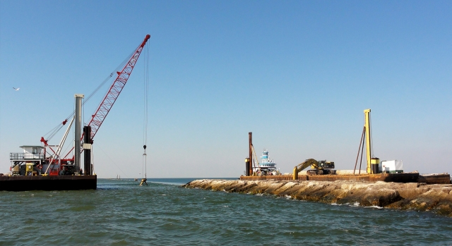 Conti Completes Gulf Jetty Project 18 Months Ahead of Schedule