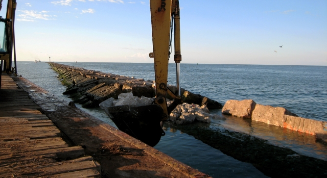 Gulf Coast Jetty and Dike Repairs